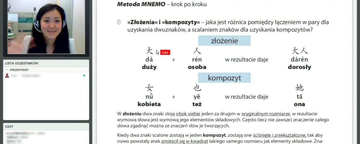 Lekcja online MNEMO