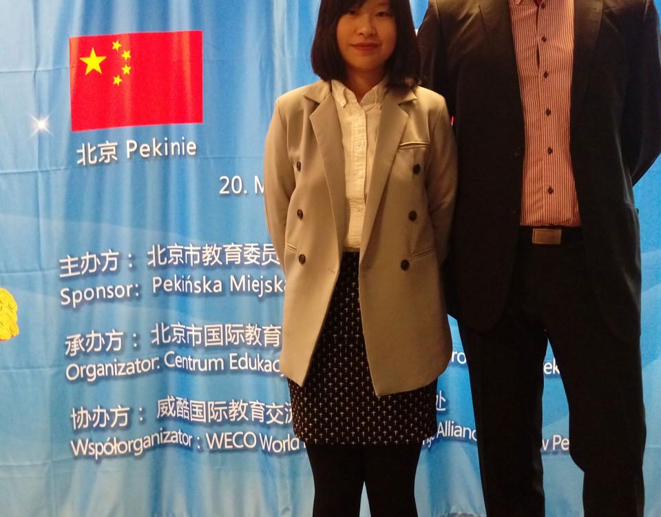 p. He Juan Dyrektor Wydziału Edukacji Ambasady Chińskiej w Warszawie