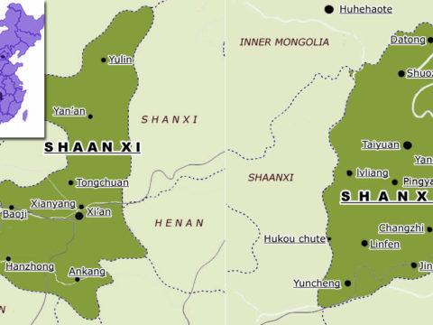 Porównanie chińskich prowinji Shaanxi vs Shanxi